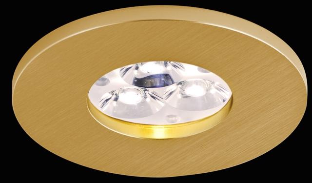 BPM 2005 Aluminio Oro Vestavné bodové svítidlo 12V + 3 roky záruka ZDARMA!