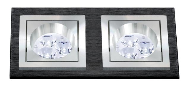 BPM 3068 Aluminio Negro Vestavné bodové svítidlo 12V + 3 roky záruka ZDARMA!