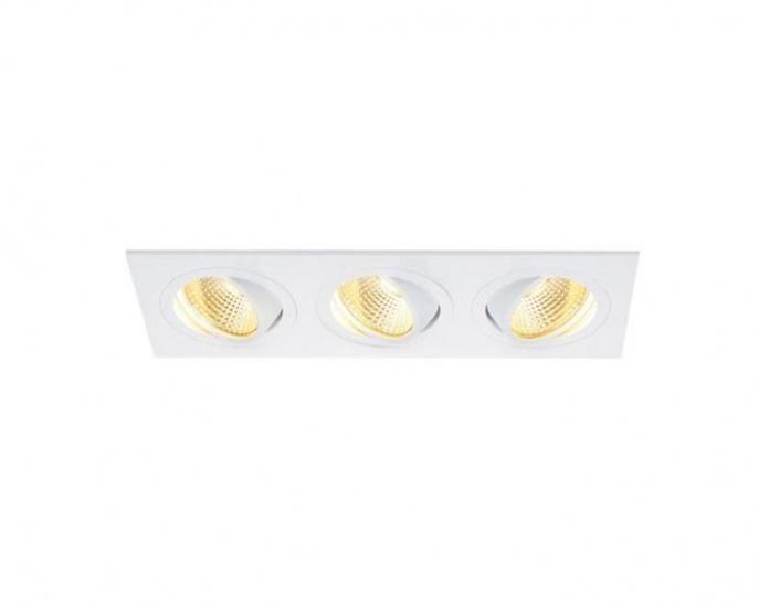 BIG WHITE LA 114211 NEW TRIA LED vestavné bodové svítidlo 230v + 3 roky záruka ZDARMA!