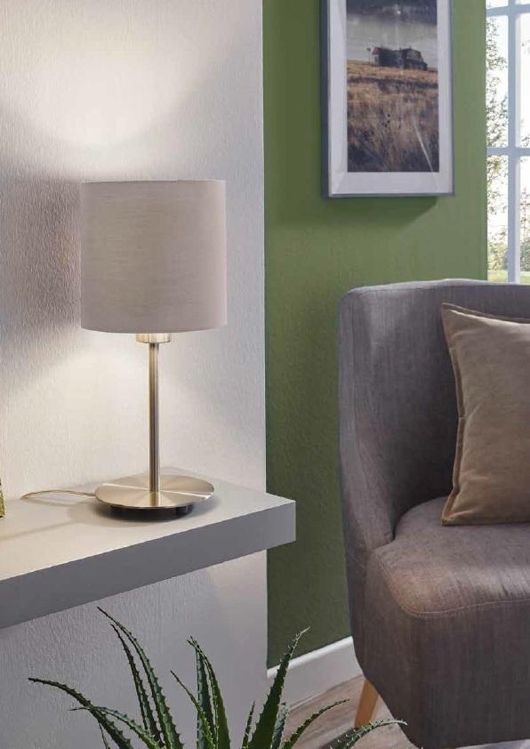 EGLO 31597 PASTERI stolní lampa nejen do ložnice