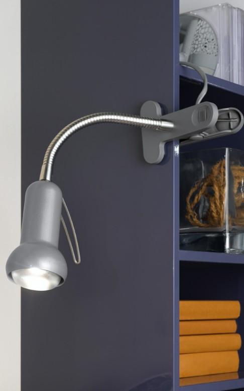 EGLO 81264 FABIO lampička na klip nejen do pracovny