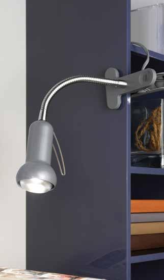 EGLO 81265 FABIO lampička na klip nejen do pracovny