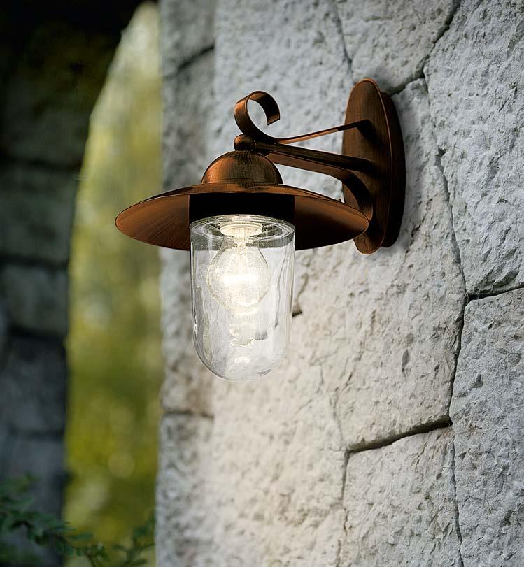 EGLO 83589 MILTON venkovní svítidlo nástěnné nejen ke schodům, na terasu