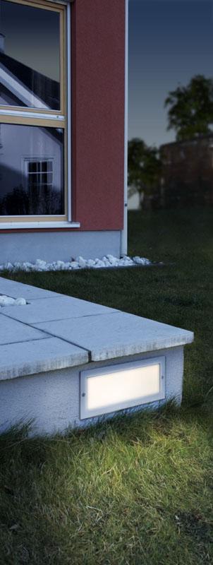 EGLO 88008 ZIMBA venkovní svítidlo vestavné nejen před dům, na dům, na cestu