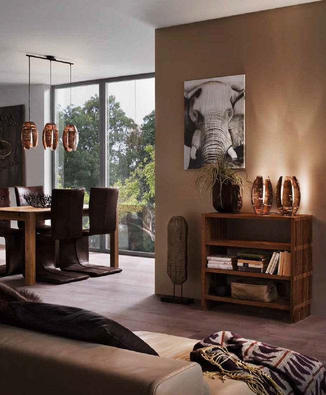 EGLO 91014 MONGU stolní lampa nejen do ložnice