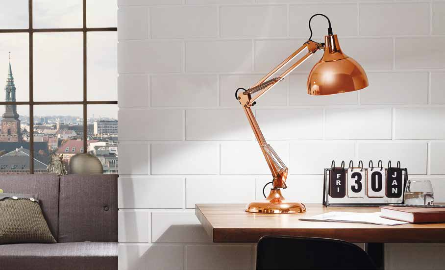 EGLO 94704 BORGILLIO pracovní lampička nejen do pracovny