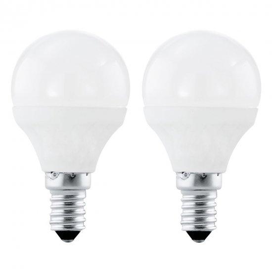 EGLO 10775 LED žárovka E14 2x4W 3000