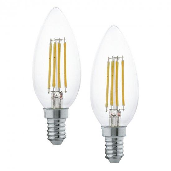 EGLO 11504 LED žárovka E14 2x4W 2700