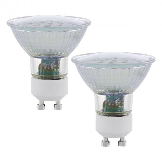 EGLO 11537 LED žárovka GU10 2x5W 3000