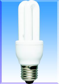 FULGUR Úsporná žárovka E27 8W -