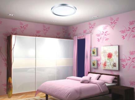 FULGUR BERTA 420/6500 SILVER  přisazené svítidlo nejen do obýváku