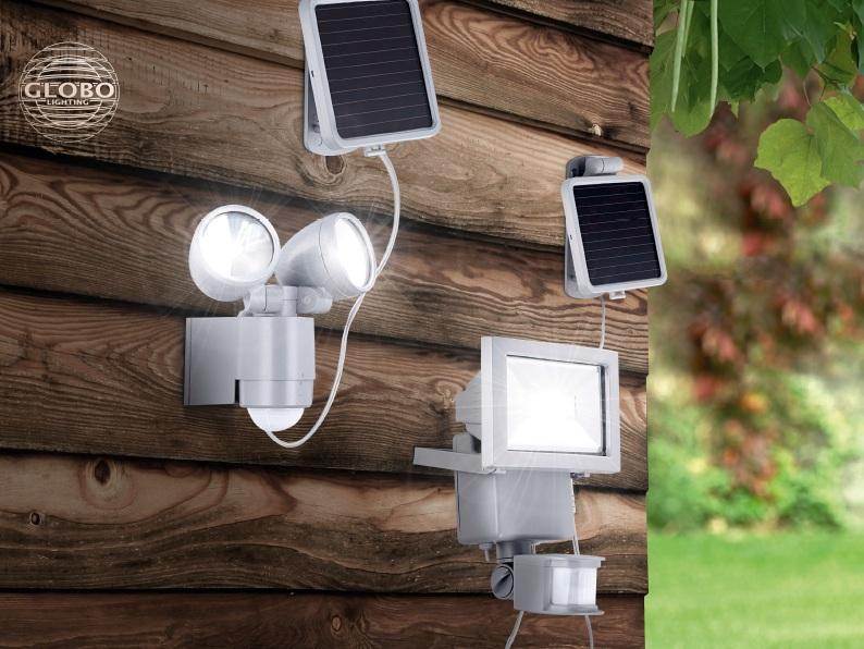 GLOBO 3715S  solární svítidlo nejen před dům, na dům, na cestu