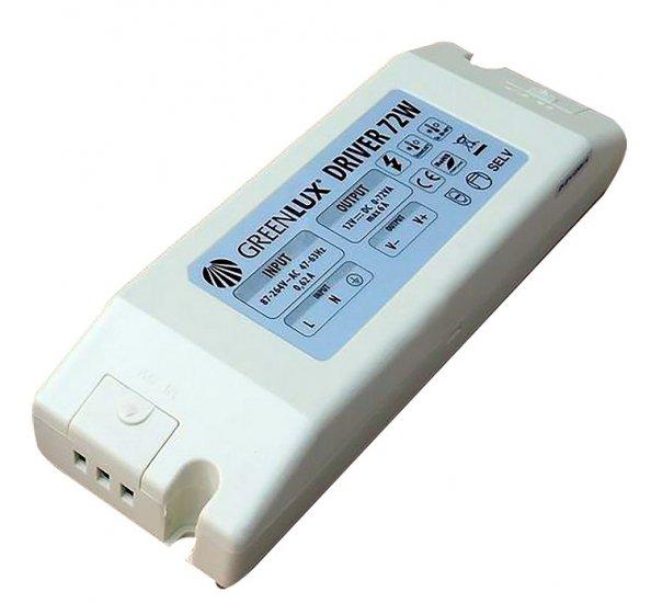 GREENLUX GXLD019 DRIVER LED IP20 72W Příslušenství k LED + 3 roky záruka ZDARMA!