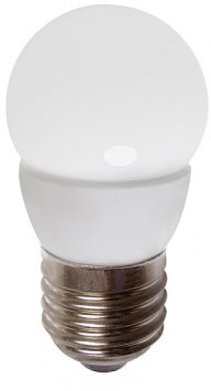 GREENLUX GXLZ188 LED MINIGLOBE E27 5W-CW LED žárovka E27 5W studená bílá