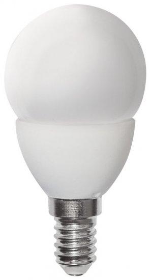 GREENLUX GXLZ190 LED MINIGLOBE E14 5W-CW LED žárovka E14 5W studená bílá