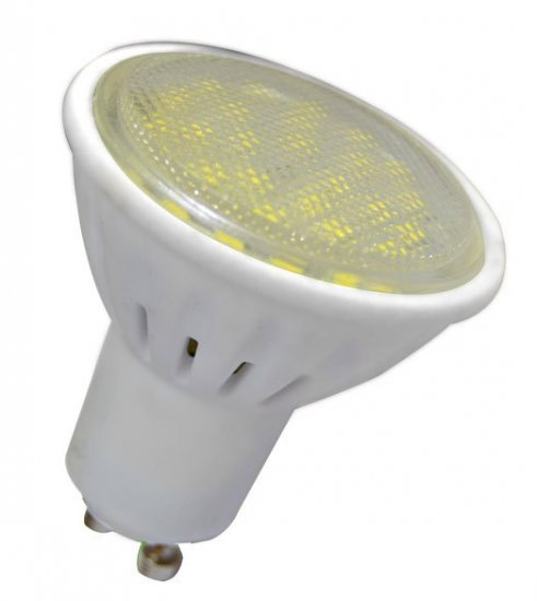 GREENLUX GXLZ240 LED HP 2835 GU10 10W PR/CW LED žárovka GU10 10W studená bílá