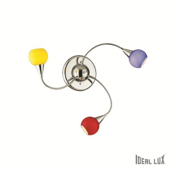 Ideal Lux IL 006543 TENDER PL3 přisazené svítidlo + 3 roky záruka ZDARMA!