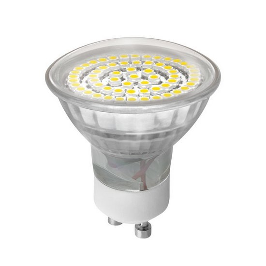 KANLUX 08931 LED žárovka GU10 3,3W studená bílá