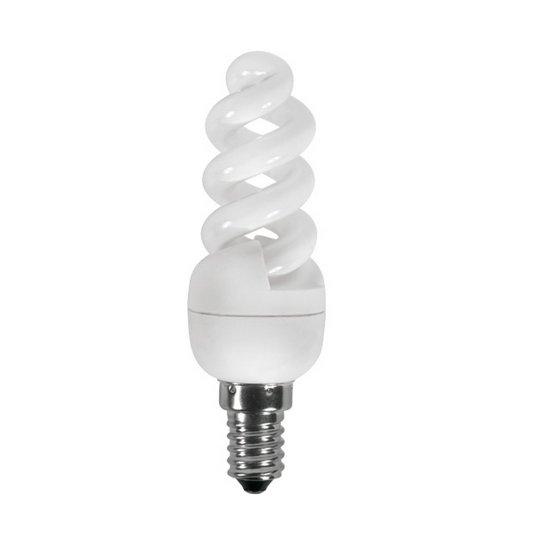 KANLUX 12600 ETU-MSS Úsporná žárovka E14 7W teplá bílá
