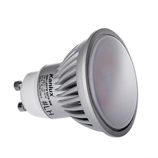 KANLUX 22260 LED žárovka GU10 7W teplá bílá