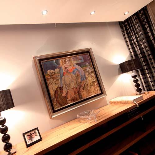 KANLUX 00325 ARGUS vestavné bodové svítidlo 230v nejen do ložnice