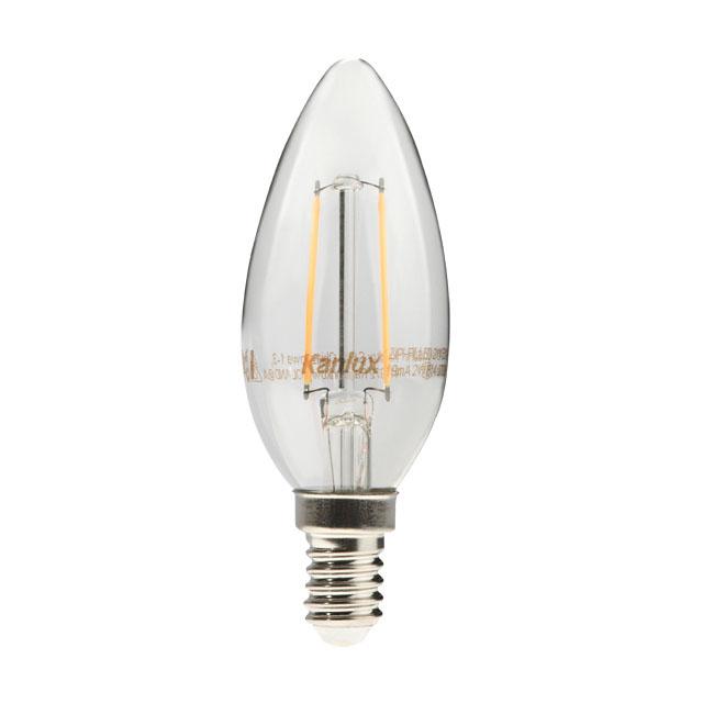 KANLUX 22469 LED žárovka E14 4W teplá bílá