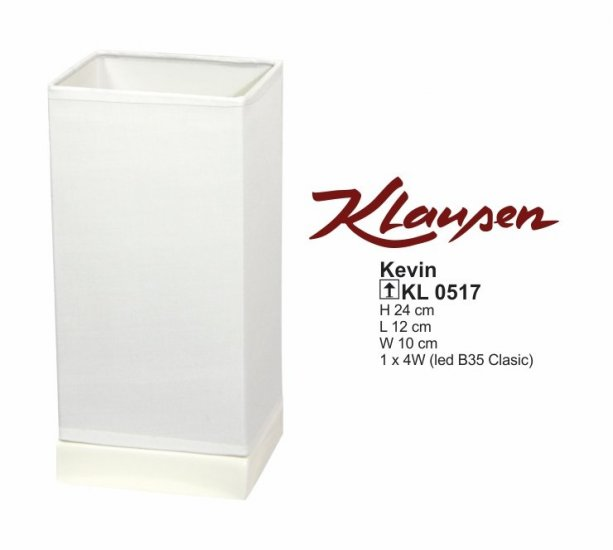 Klausen 0517 Kevin Pokojová stolní lampa + 3 roky záruka ZDARMA!