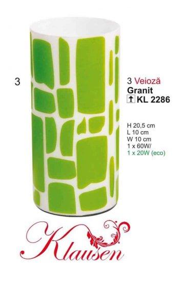 Klausen 2286 Granit Pokojová stolní lampa + 3 roky záruka ZDARMA!