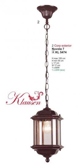 KLAUSEN KL 5474 Nuvola (Klausen) Venkovní svítidlo závěsné + 3 roky záruka ZDARMA!