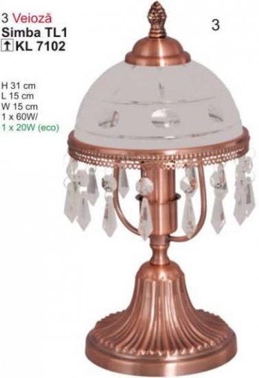 Klausen 7102 Simba Pokojová stolní lampa + 3 roky záruka ZDARMA!