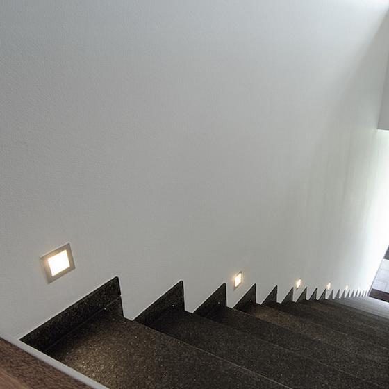 BIG WHITE LA 112732 FRAME BASIC venkovní svítidlo vestavné nejen ke schodům, na terasu