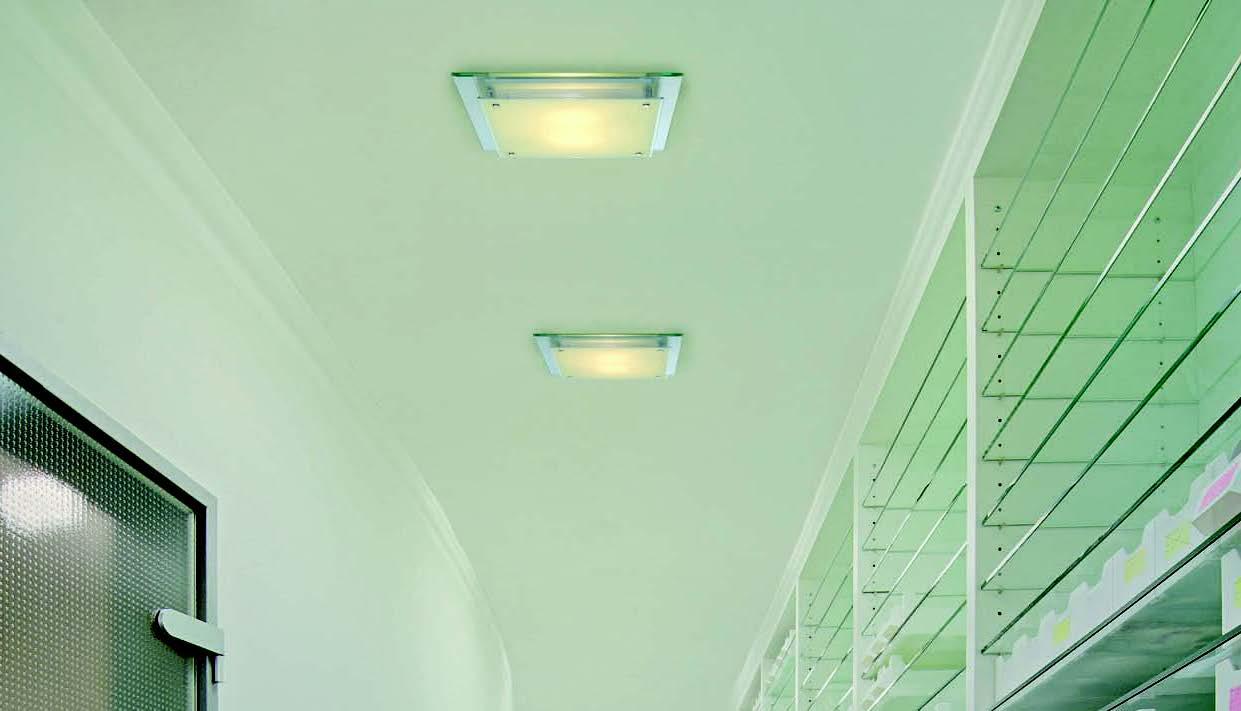 BIG WHITE LA 155180 GLASSA stropní svítidlo nejen do chodby a předsíně