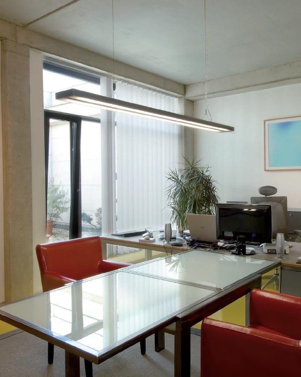 BIG WHITE LA 160832 KUNO lustr nejen do kanceláře