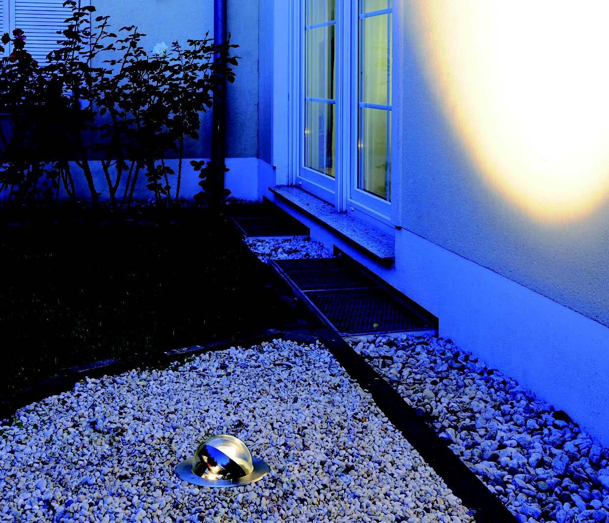 BIG WHITE LA 228370  pojezdové/zemní svítidlo nejen před dům, na dům, na cestu