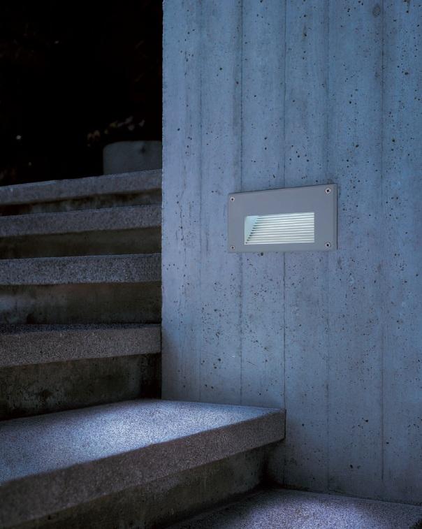 BIG WHITE LA 229701 BRICK LED DOWNUNDER venkovní svítidlo nástěnné nejen na chalupu