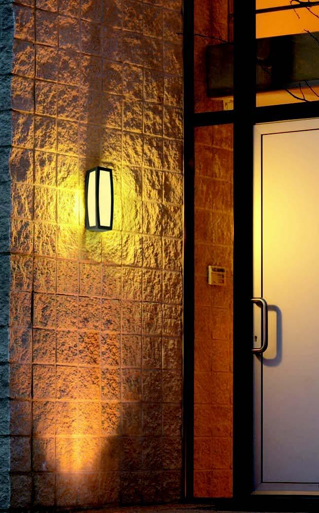 BIG WHITE LA 230045 MERIDIAN venkovní svítidlo nástěnné nejen na chalupu