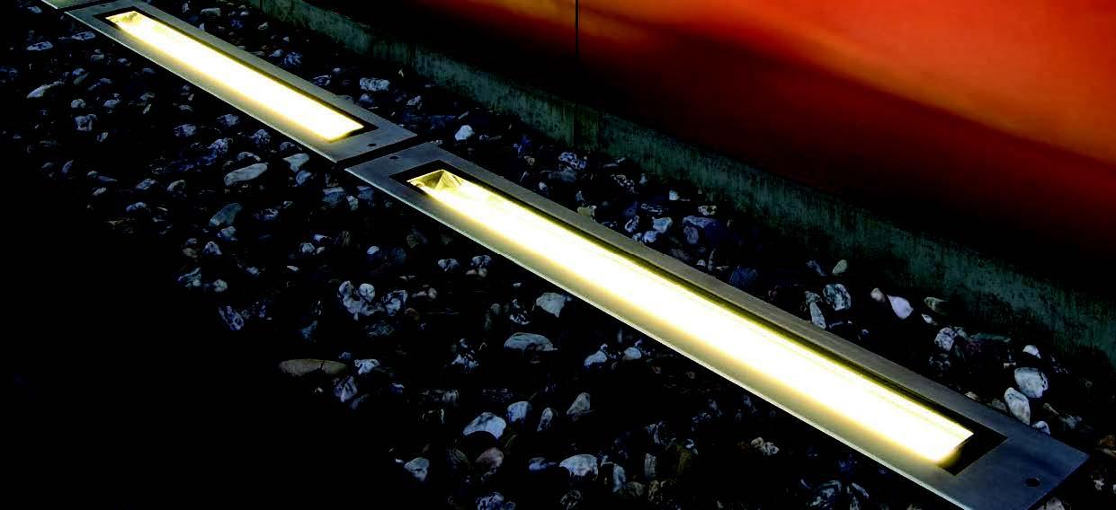 BIG WHITE LA 230100 DASAR pojezdové/zemní svítidlo nejen před dům, na dům, na cestu