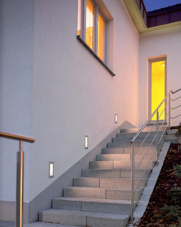 BIG WHITE LA 230231 BRICK LED venkovní svítidlo vestavné nejen ke schodům, na terasu