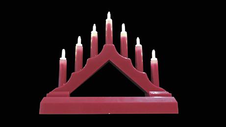 Massive Philips 31134 SVÍCEN ČERVENÝ vánoční dekorace + 3 roky záruka ZDARMA!