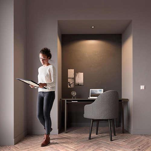 Massive Philips 5040117PN DONEGAL vestavné bodové svítidlo 230v nejen do chodby a předsíně