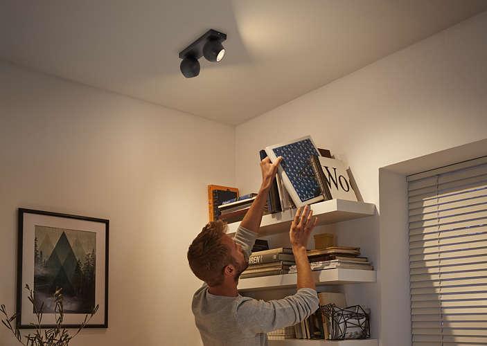 Massive Philips 5047230P7 BUCKRAM bodové svítidlo nejen do obýváku