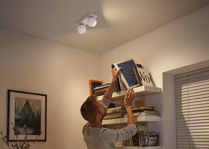 Massive Philips 5047231P7 BUCKRAM bodové svítidlo nejen do ložnice