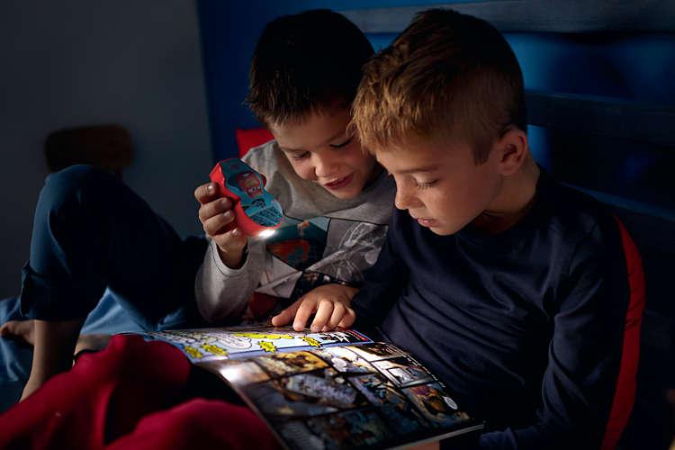 Massive Philips 7176732P0 DISNEY BATERKA dětská lampičkado dětského pokoje