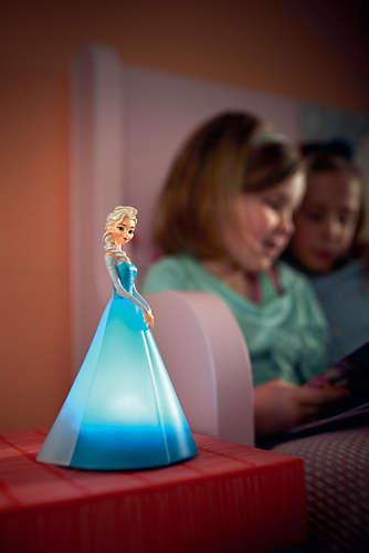 Massive Philips 7194308P0 3D dětská lampičkado dětského pokoje