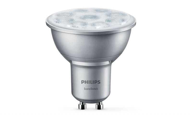 Massive Philips 8718696598580 led žárovka GU10 1,3/2,8/4,5W