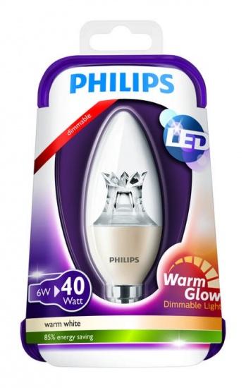 Massive Philips 8718696453483 led žárovka E14 6 -> nahrazuje 40W
