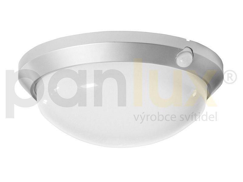 PANLUX OS-60/CH OLGA S přisazené stropní a nástěnné kruhové svítidlo se senzorem 60W, stříbrná PANLUX OS-60/CH + 3 roky záruka ZDARMA!