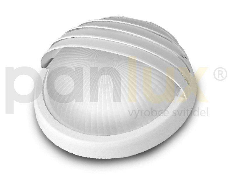 PANLUX RDLG-60/B LUNA GRILL přisazené stropní a nástěnné kruhové svítidlo 75W, bílá PANLUX RDLG-60/B + 3 roky záruka ZDARMA!