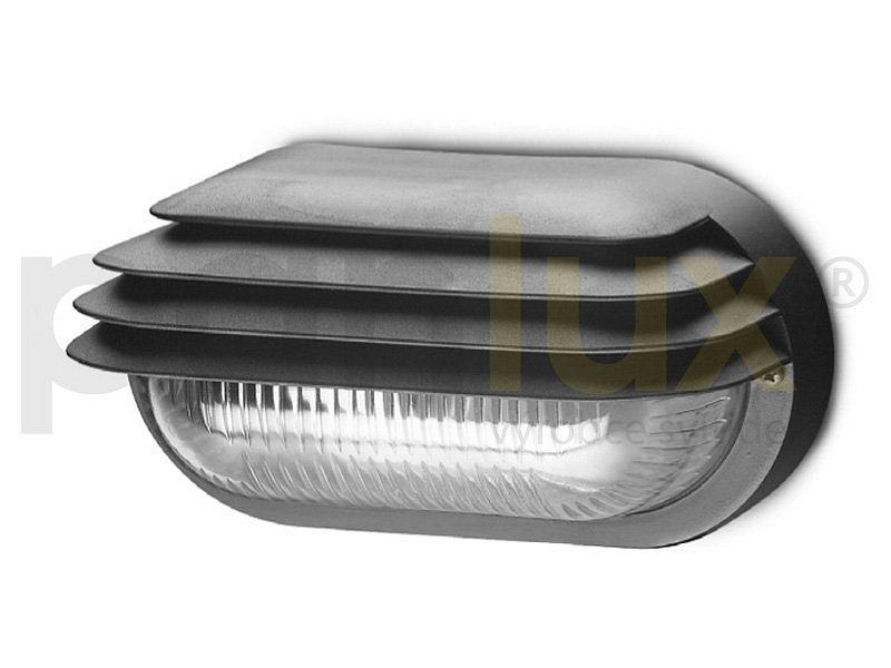 PANLUX SOG-M-40/C OVAL GRILL MAT přisazené nástěnné svítidlo 40W, černá PANLUX SOG-M-40/C + 3 roky záruka ZDARMA!