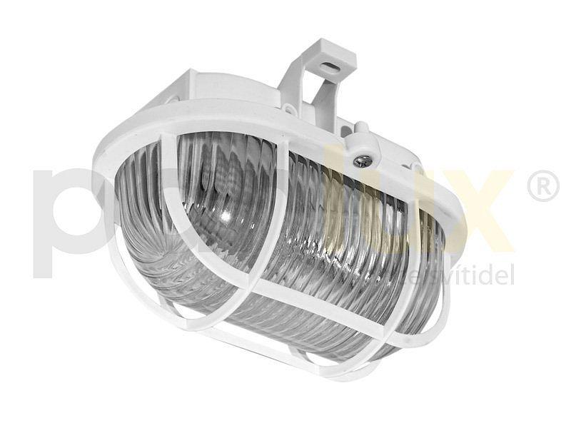 PANLUX SOP-M-60/B OVAL PLAST MAT přisazené nástěnné svítidlo 40W, bílá PANLUX SOP-M-60/B + 3 roky záruka ZDARMA!
